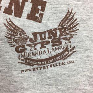 Junk Gypsy Tops - Junk Gypsy Miranda Lambert Collection tee sz XL